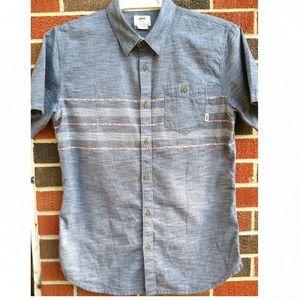 VANS Men's Large short sleeve button down shirt